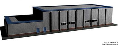 Visualisatie gebouw